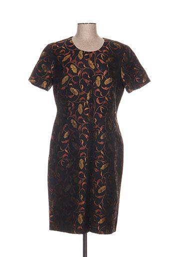 carole richard robes femme de couleur noir