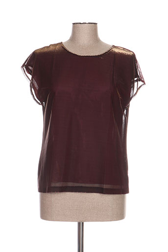 jean gabriel chemises femme de couleur rouge