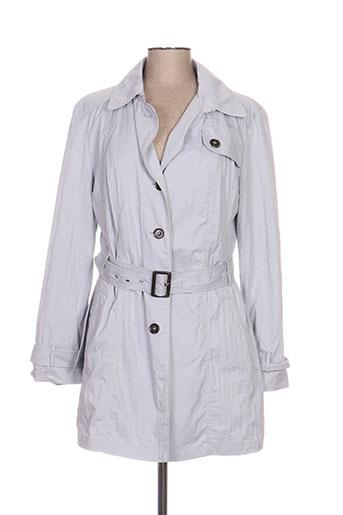 white label manteaux femme de couleur gris