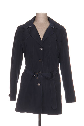 white label manteaux femme de couleur bleu