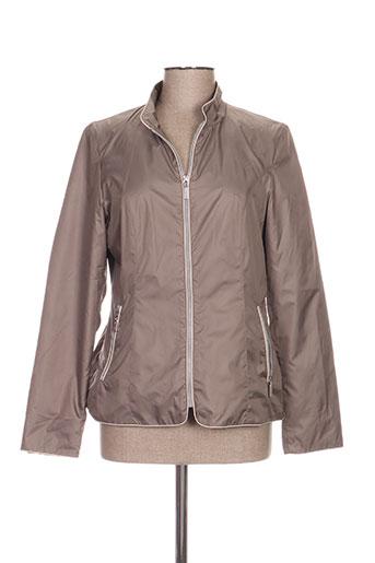 white label manteaux femme de couleur marron
