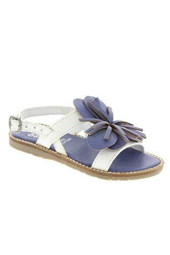 gioseppo chaussures fille de couleur bleu