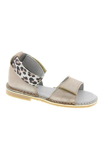 Sandales/Nu pieds beige KNEPP pour fille
