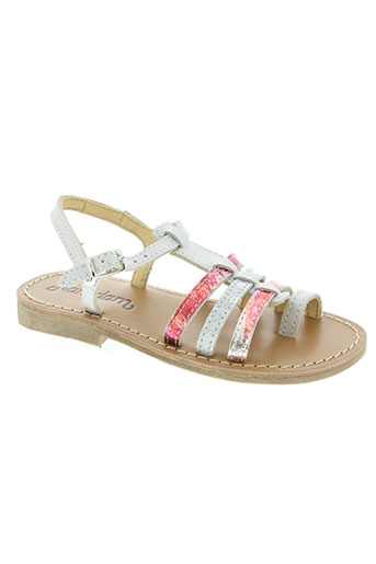 Sandales/Nu pieds rose RAMDAM pour fille
