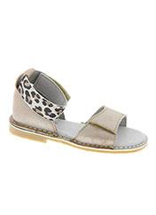 Sandales/Nu pieds beige KNEPP pour fille seconde vue