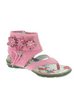 Sandales/Nu pieds rose BANA & CO pour fille