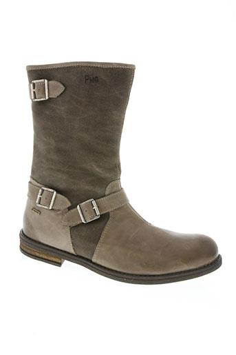 primigi chaussures femme de couleur gris