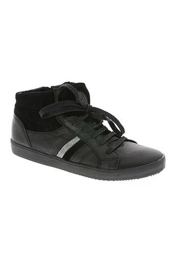 acebos chaussures garçon de couleur noir