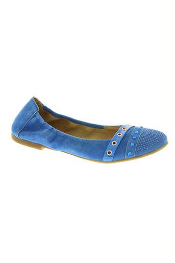 romagnoli chaussures femme de couleur bleu