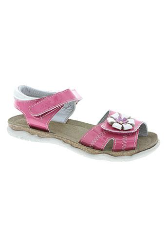 natik chaussures fille de couleur rose