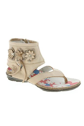 Sandales/Nu pieds beige BANA & CO pour fille