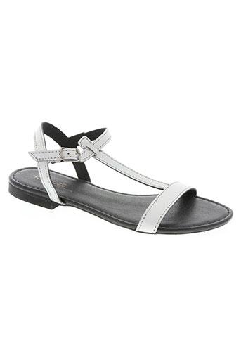 Sandales/Nu pieds gris REQINS pour fille