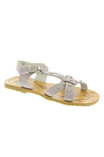 Sandales/Nu pieds violet LITTLE MARY pour fille