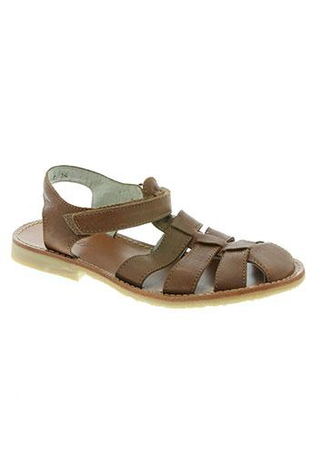Sandales/Nu pieds marron KNEPP pour garçon