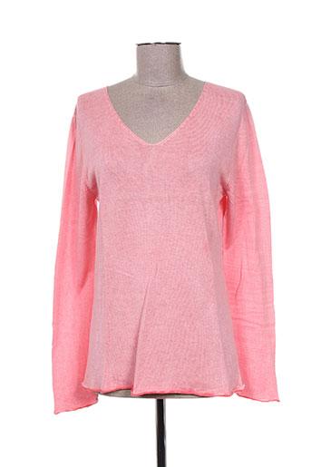 chicama pulls femme de couleur rose