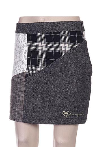 desigual jupes femme de couleur gris
