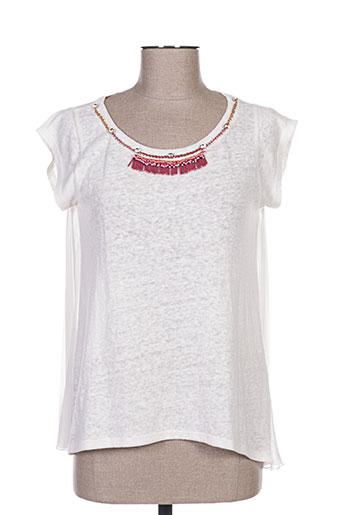fracomina t-shirts femme de couleur blanc