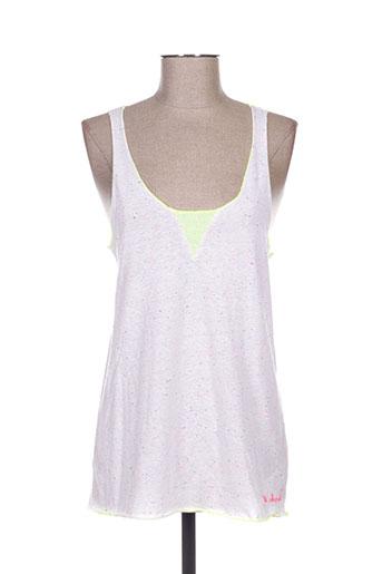 little marcel t-shirts femme de couleur blanc