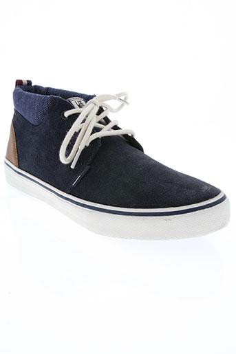 tommy hilfiger chaussures femme de couleur bleu