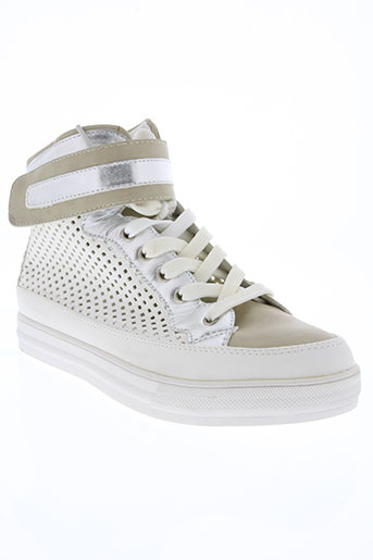 j&j shoes chaussures femme de couleur blanc