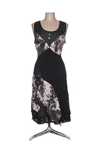purplerose robes femme de couleur noir