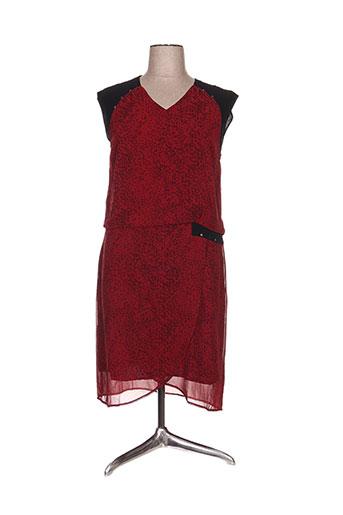 les filles de neaux robes femme de couleur rouge