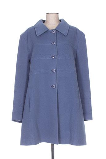 paloma manteaux femme de couleur bleu