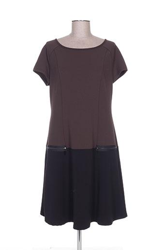 femmes je vous aime robes femme de couleur marron
