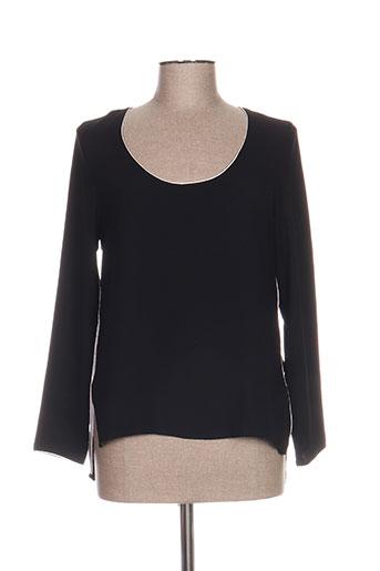 millenium chemises femme de couleur noir