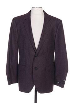 61c9d906c0d54c Vêtements Homme De Marque HUGO BOSS De Couleur Violet En Soldes Pas ...