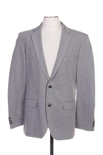 hugo boss vestes homme de couleur gris