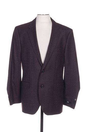 hugo boss vestes homme de couleur violet