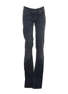 Jeans coupe slim bleu RALPH LAUREN pour femme
