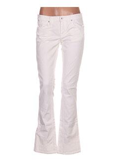 Jeans bootcut blanc RALPH LAUREN pour femme