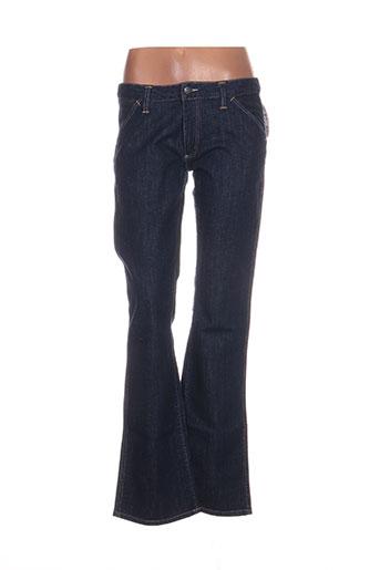 lacoste jeans femme de couleur bleu