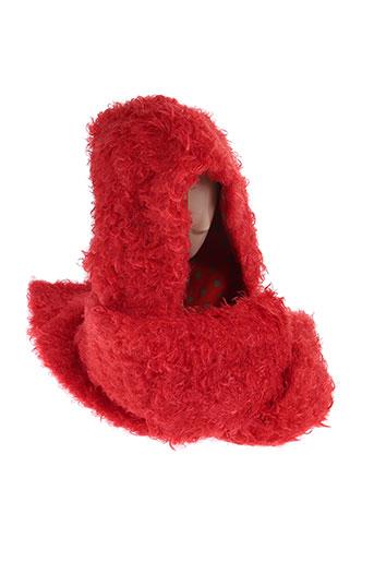 Echarpe rouge ZOE LA FEE pour femme