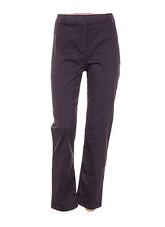 Pantalon casual violet PAUSE CAFE pour femme
