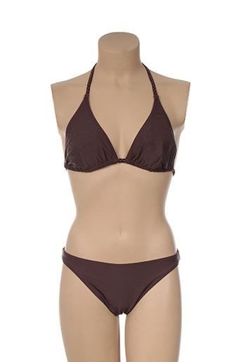 murphy EFFI_CHAR_1 nye maillots de bain femme de couleur marron