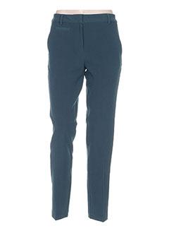 Pantalon casual vert NICE THINGS pour femme
