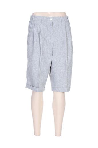 nolwenn shorts / bermudas femme de couleur gris