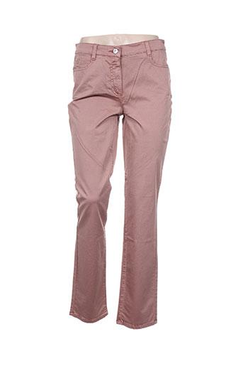 lebek jeans femme de couleur rose