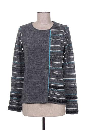 quattro pulls femme de couleur gris