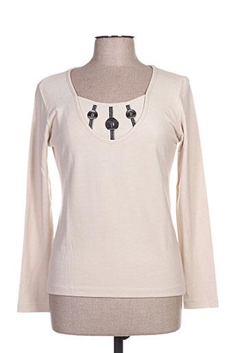 quattro chemises femme de couleur beige