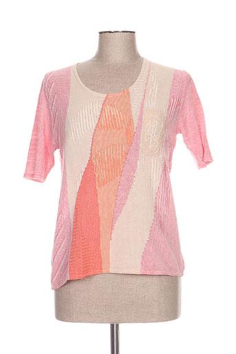 fileuse d'arvor pulls femme de couleur rose