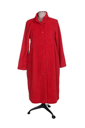 canat nuit femme de couleur rouge