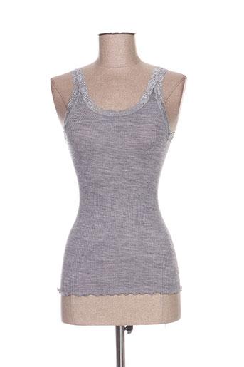 ghiro lingerie femme de couleur gris