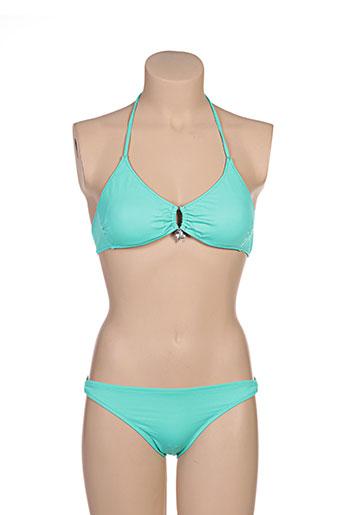 borabora maillots de bain femme de couleur vert