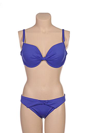 borabora maillots de bain femme de couleur bleu
