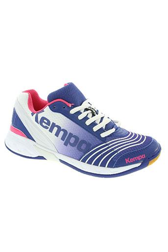 kempa chaussures femme de couleur bleu