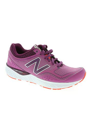 new balance chaussures femme de couleur violet